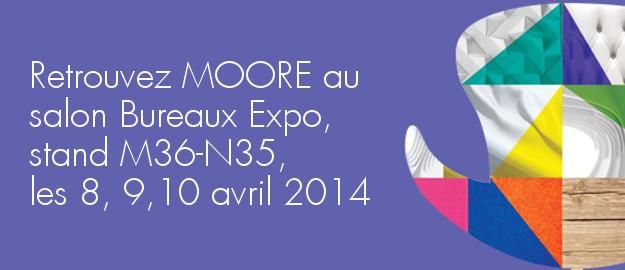 Moore participae à Bureaux Expo ACTU
